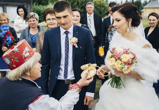 "Photo report on the ritual event ""Belarusian Wedding Ceremony"""